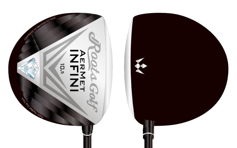Roots Golf AerMet Infini ドライバー デザイン