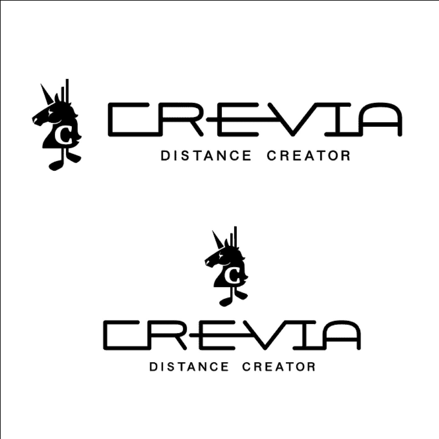 CREVIA ロゴデザイン