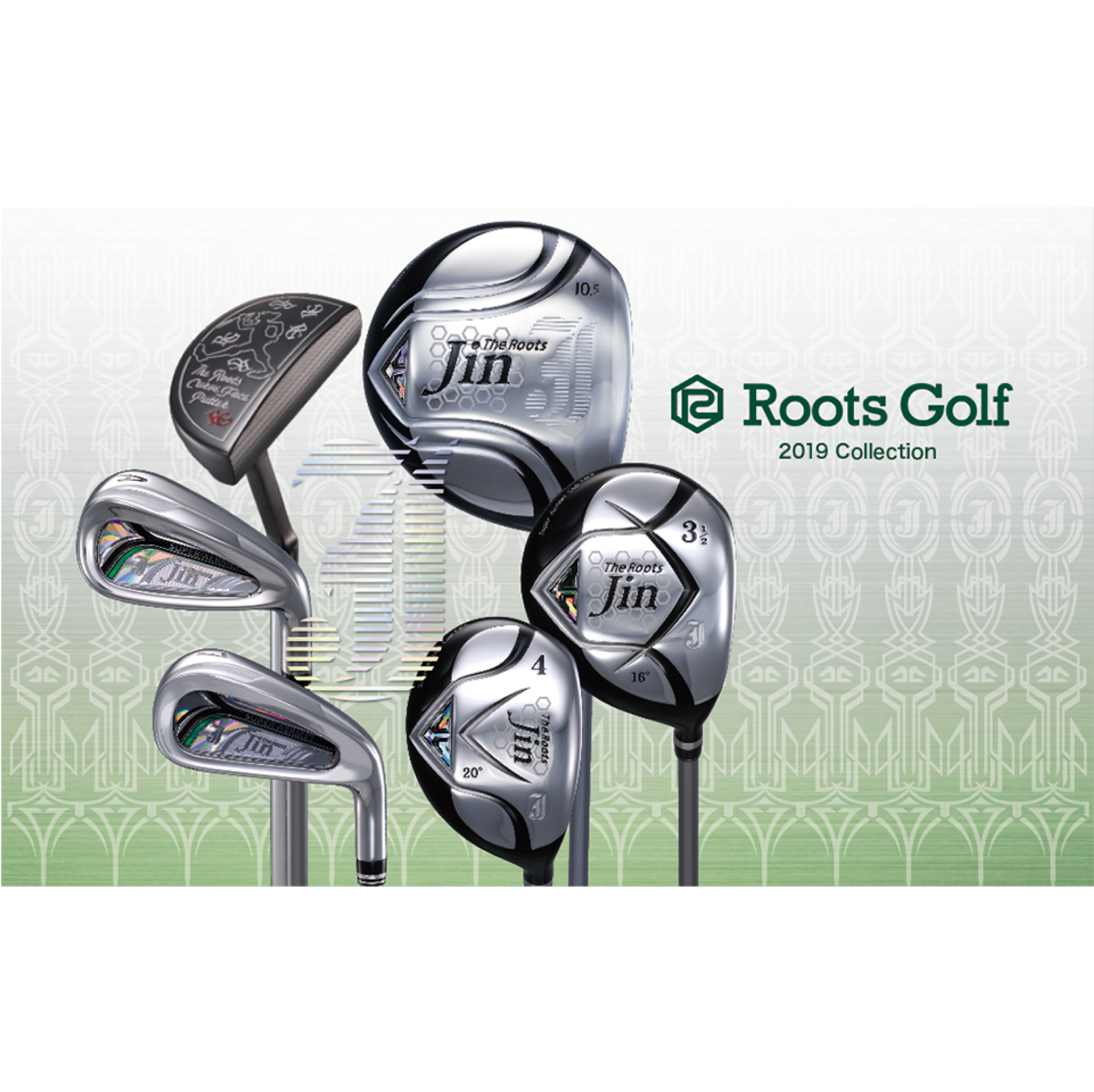 2019 Roots Golfカタログデザイン