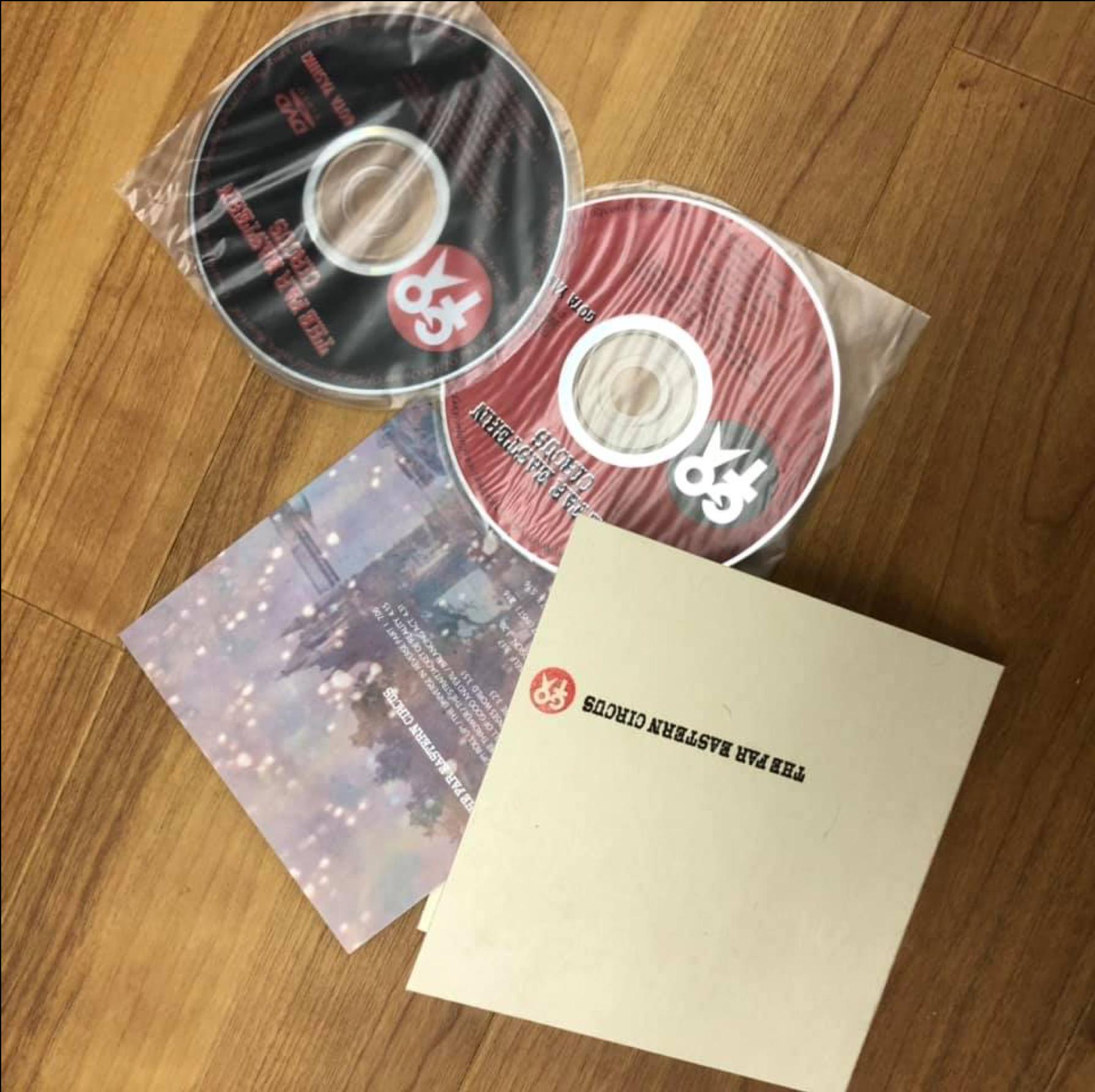 屋敷豪太さんのソロアルバム デザイン
