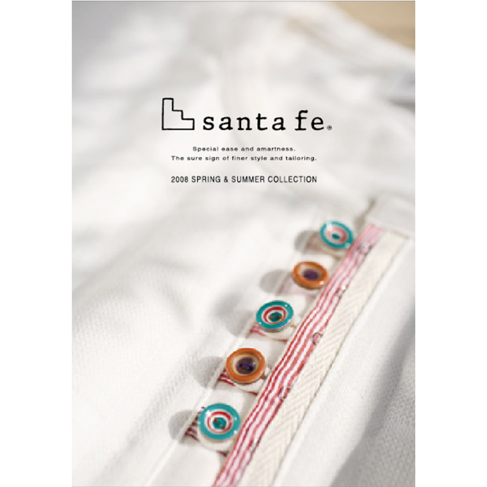 Santa fe カタログデザイン