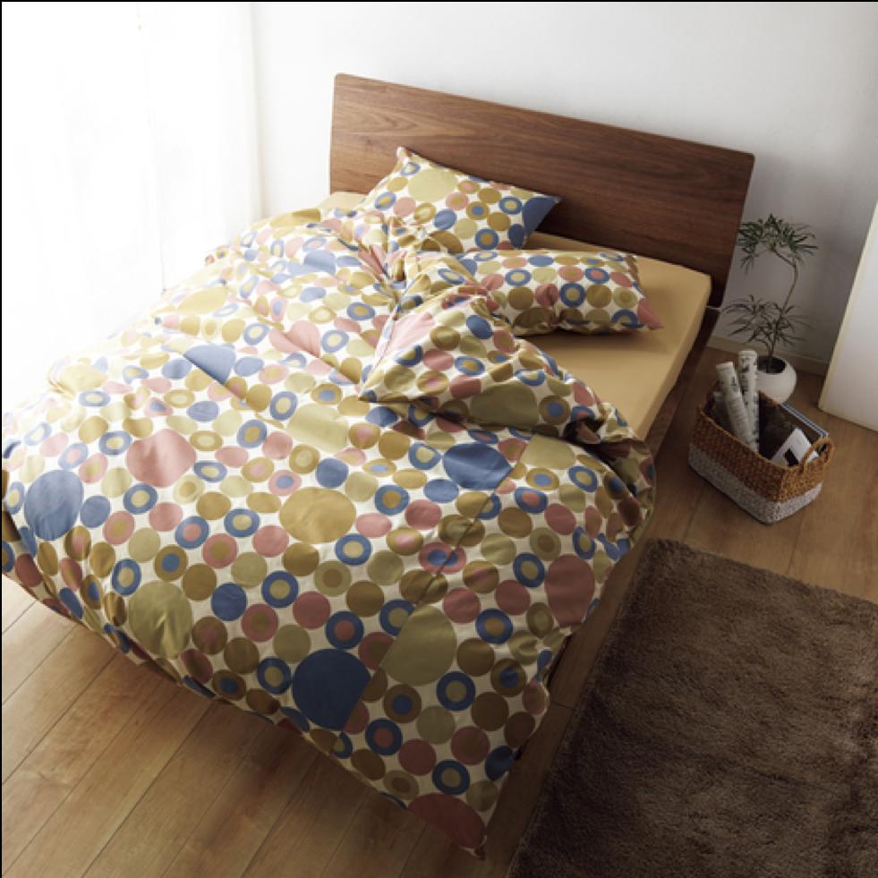 ベッド カバーリング デザイン