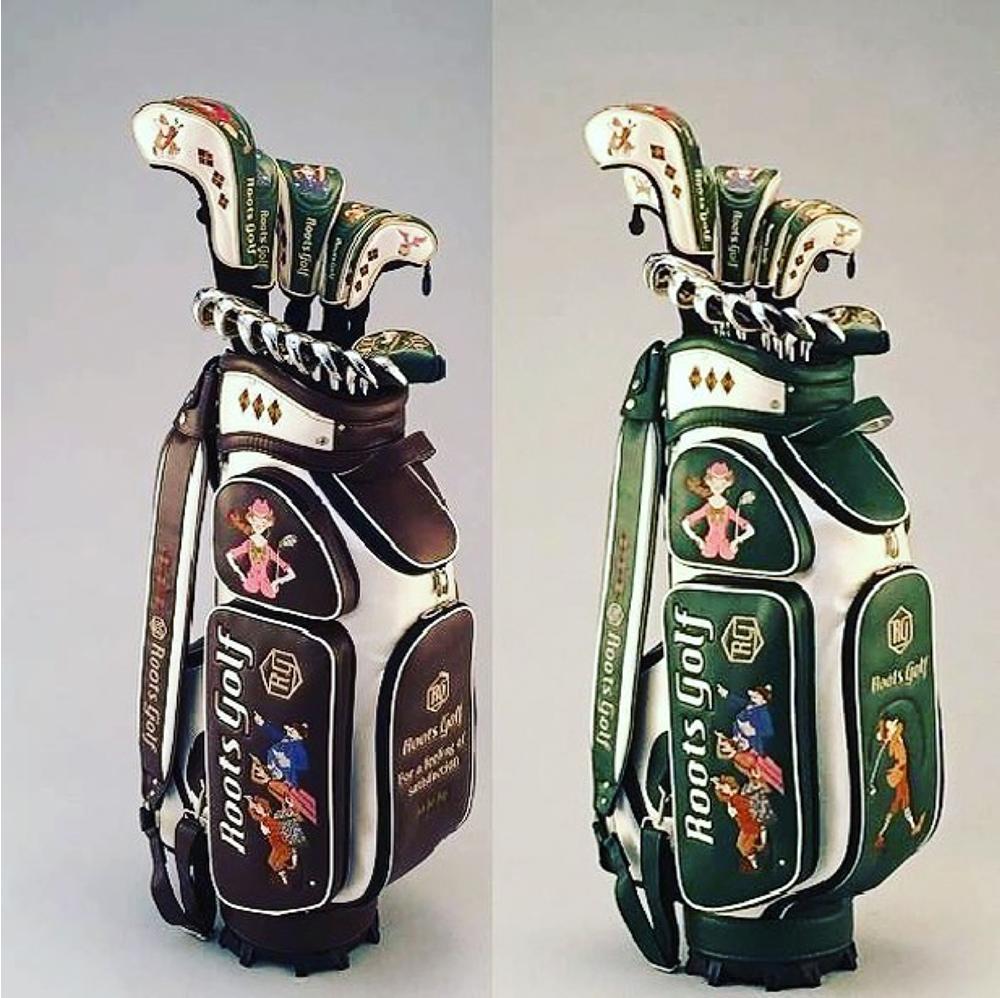 2017 ルーツゴルフ キャディーバッグ デザイン