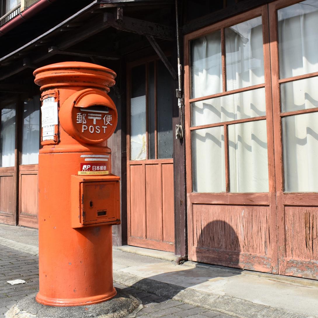 旧型の郵便ポスト