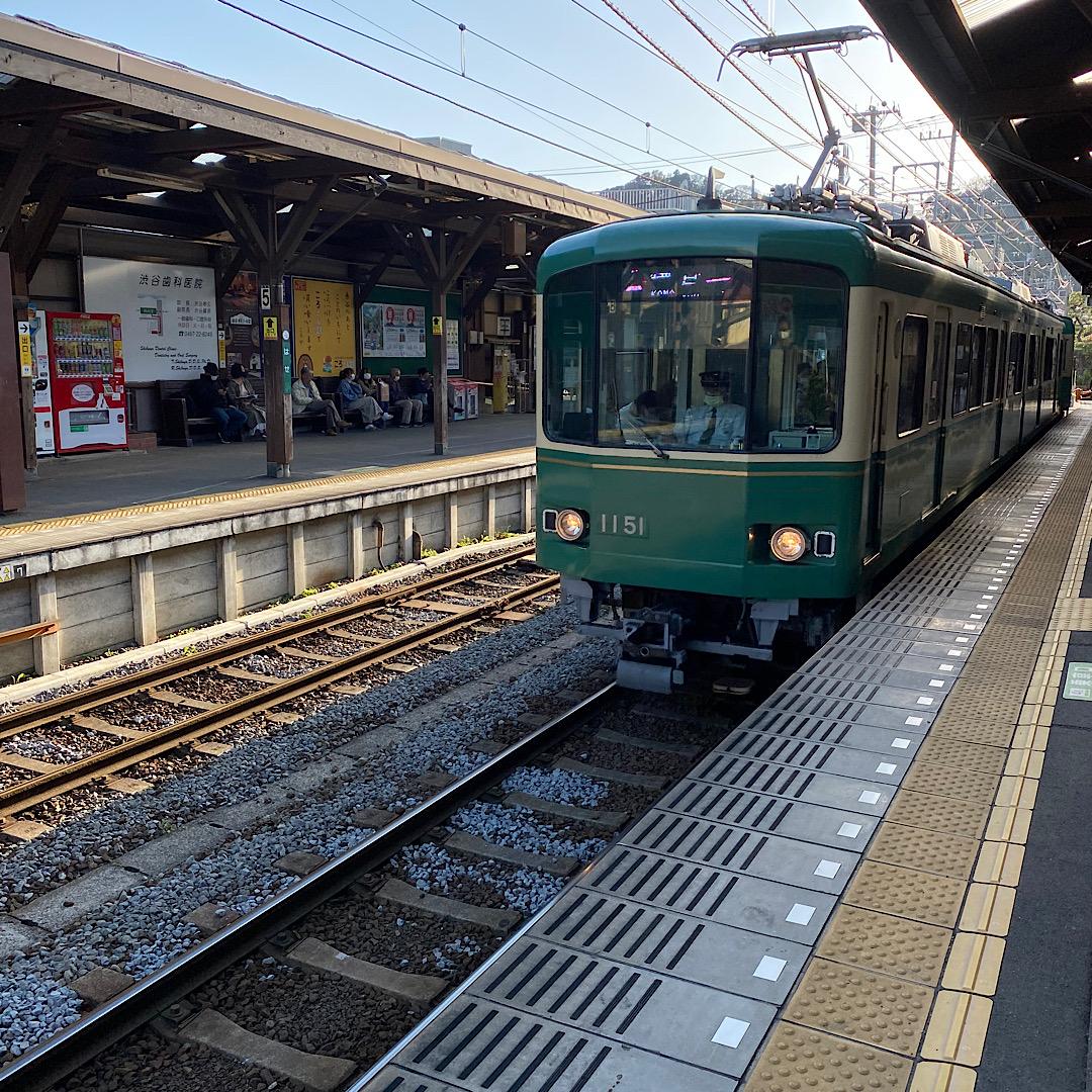 鎌倉で撮影