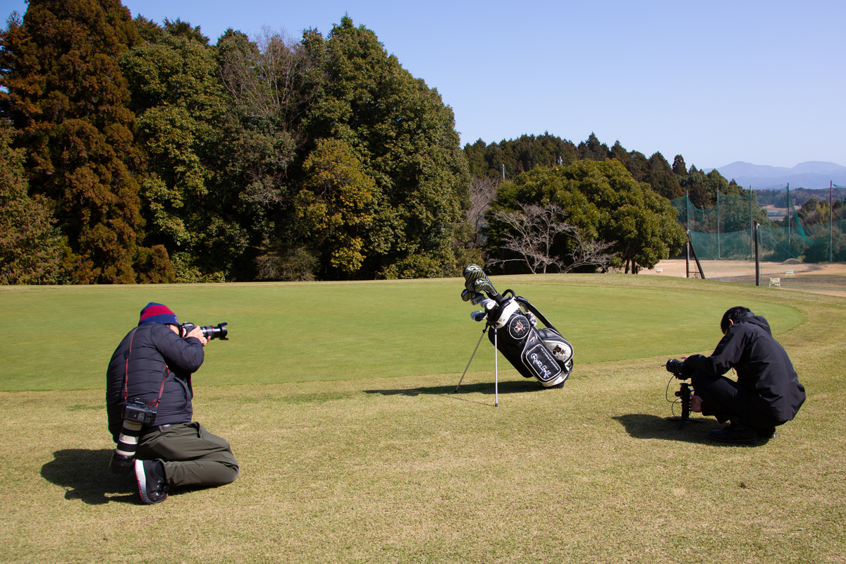Roots Golf撮影