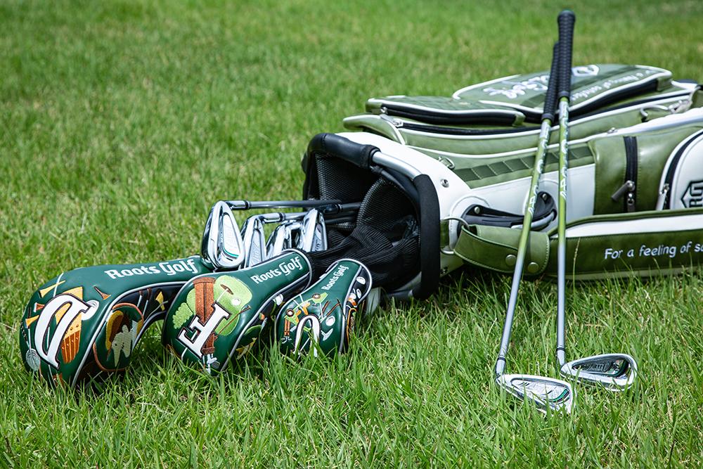 roots golfキャディーバッグ