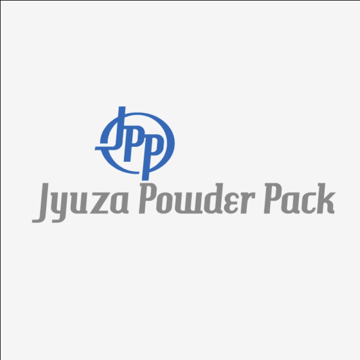 ジューザパウダーパック ロゴデザイン