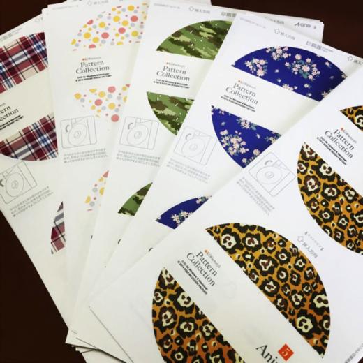 テキスタイルデザインデータ集Pattern Collection好評発売中です