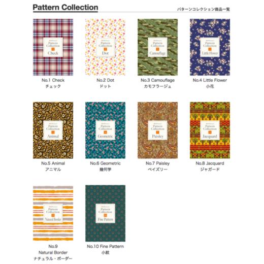 デザインデータ集Pattern Collection好評発売中