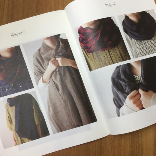 Bishwool ブランドパンフレットデザイン&写真撮影