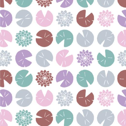 「和の図案・夏」デザインデータ集